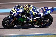 MotoGP - Rossi skeptisch: Podest wird schwierig