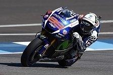 MotoGP - Lorenzo: Erste Reihe gerettet, WM im Blick