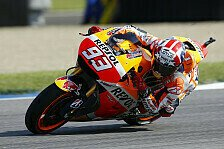 MotoGP - Warm-Up-Spektakel: Marquez und Lorenzo stürzen