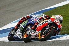 MotoGP - Video: Marquez spielt mit Lorenzo - Die Highlights aus Indianapolis