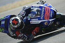 MotoGP - Lorenzo zufrieden: Rossi deutlich distanziert
