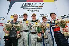 ADAC Formel 4 - Marvin Dienst übernimmt Meisterschaftsführung