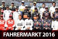 Formel 1 - Übersicht: Fahrer & Teams für F1-Saison 2016