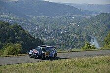 WRC - Bestzeit für VW beim Shakedown zum Heimspiel