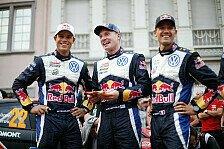 WRC - Deutschland: Latvala führt hauchdünn vor Ogier