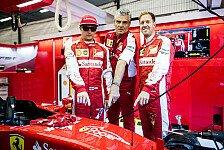 Formel 1 - Räikkönen: Darum ist Ferrari mit Vettel stärker