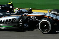 Formel 1 - Renault an Übernahme von Force India interessiert