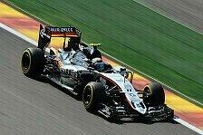 Formel 1 - Perez nimmt das Podium ins Visier