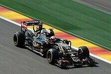 Formel 1 - Lotus droht Beschlagnahmung der Boliden in Spa