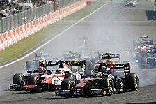 GP2 - Massencrash! GP2-Finale nach zwei Kurven beendet