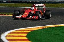 Formel 1 - Vettel: Zufrieden mit ersten Pirelli-Ergebnissen