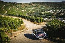 WRC - VW feiert Dreifach-Sieg bei Rallye Deutschland
