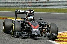 Formel 1 - Arai kritisiert McLaren-Chassis