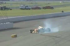 IndyCar - Bilderserie: Justin Wilsons Karriere-Höhepunkte