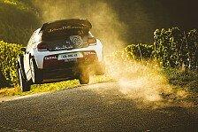WRC - Nach schwerem Unfall: Östberg startet auf Korsika