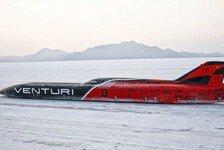 Formel E - Venturi mit Elektro-Landgeschwindigkeitsrekord