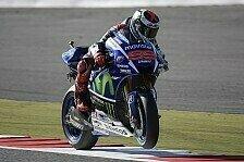 MotoGP - FP3: Lorenzo mit Bestzeit