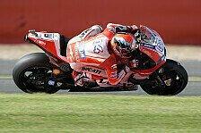 MotoGP - Dovizioso stellt alte Ducati-Rangordnung her