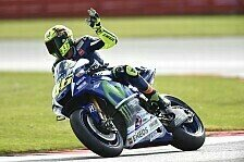 MotoGP - Silverstone-Chaos: Rossi siegt, Marquez fliegt