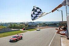 ADAC GT Masters - Sachsenring: Audi knapp vor Bentley in Rennen 2