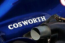 Formel 1 - Alternativmotor: Cosworth bewirbt sich nicht