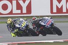 MotoGP - Rossi und Lorenzo weisen Druck von sich