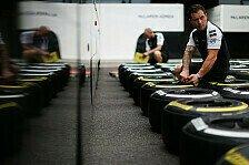 Formel 1 - Pirelli reagiert: Vorgaben für Druck und Sturz