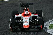 Formel 1 - Will Stevens will bei Manor bleiben