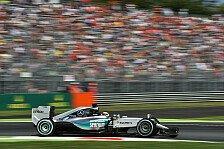 Formel 1 - Neue Reifendrücke in Monza: Mercedes ohne Probleme