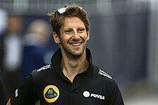 Formel 1 - Grosjean: Cockpit-Entscheidung für 2016 getroffen!