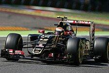 Formel 1 - Lotus erwartet reichlich Punkte