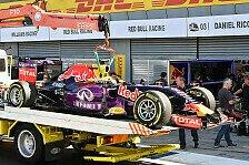 Formel 1 - Red Bull: Ricciardos neuer Motor schon kaputt