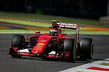 Formel 1 - Räikkönen schlägt Vettel: Iceman in Monza auf P2