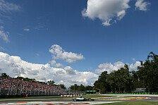 Formel 1 - Italien GP: Die Infos zum Renn-Sonntag