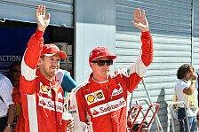 Formel 1 - Vettel: Der Traum vom Ferrari-Doppelsieg