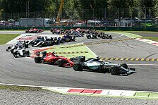 Formel 1 - Italien GP: Hamilton siegt, Rosberg Motorschaden