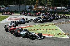 Formel 1 - TV-Quoten Italien GP: Dickes Plus für RTL