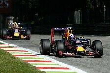 Formel 1 - Ricciardo und Kvyat punkten nach Aufholjagd