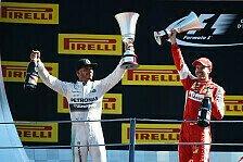 Formel 1 - Bilderserie: Italien GP - Statistiken zum Rennen