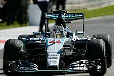 Formel 1 - Zu wenig Reifendruck: Keine Strafe für Hamilton