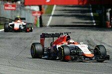 Formel 1 - Manor zweckoptimistisch: Zumindest zuverlässig