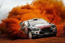WRC - Australien: Latvala führt nach Tag 1