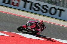 Moto2 - Vier deutschsprachige Fahrer in Moto2-Top Ten