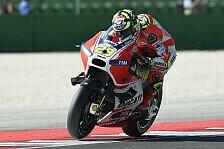 MotoGP - Ducati-Werksfahrer erneut von Petrucci deklassiert