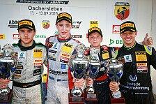 ADAC Formel 4 - Oschersleben: Mick Schumacher starker Vierter