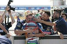 Moto3 - Bastianini feiert Heimsieg, Kent im Straf-Pech