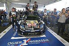 Sebastien Ogier wird bei der Rallye Spanien Weltmeister, wenn...