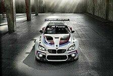 Mehr Sportwagen - BMW präsentiert neuen GT3-Kraftprotz