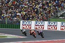 MotoGP - Video: Irre Regenschlacht: Die Highlights aus Misano
