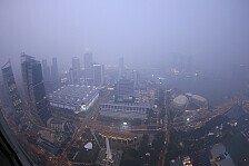 Formel 1 - News-Ticker: Smog gefährdet Formel 1 in Singapur